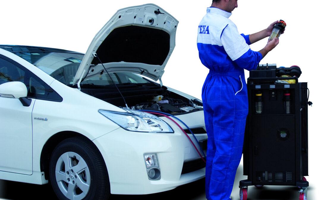 Zelektryzowana klimatyzacja w pojazdach elektrycznych i hybrydowych